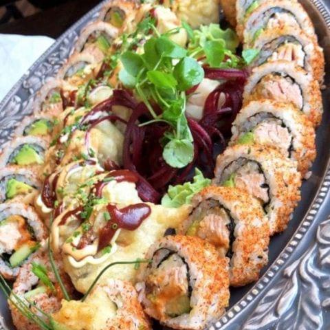Bild från Tezukuri sushi av Matilda L.