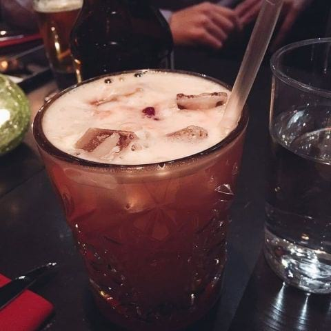 pomegrante sour – Photo from Tehran Grill Vasastan by Katarina D.
