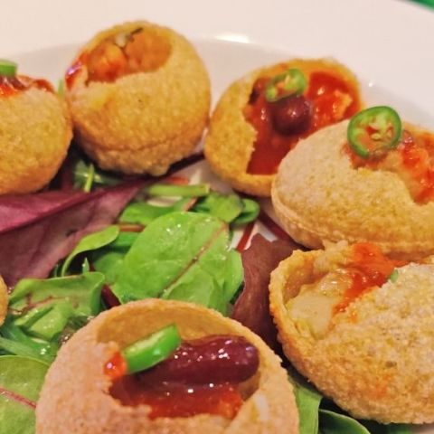 Gol Gappe - Pani Puri – Photo from Tea Story by Shahzad A.