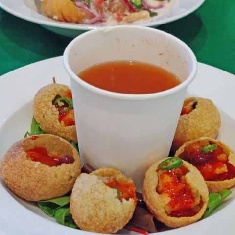 Pani Puri - Gol Gappe – Photo from Tea Story by Shahzad A.