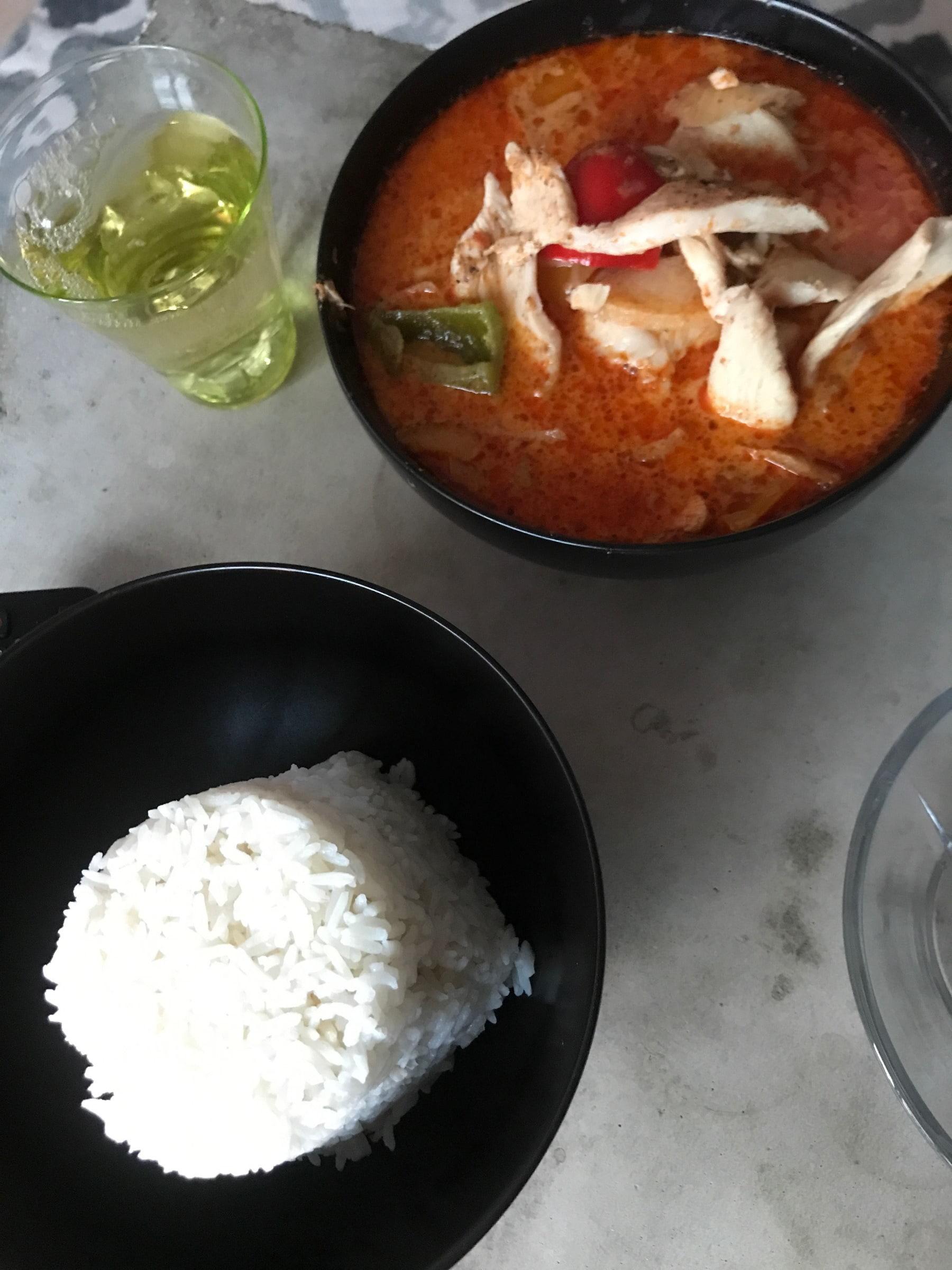 Massaman curry – Bild från Thai Enjoy Sundbyberg av Jessica K.