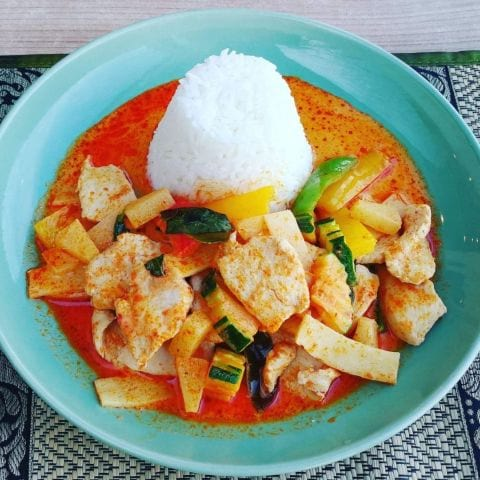 Red curry gai – Bild från Thaibreak av Hans H.