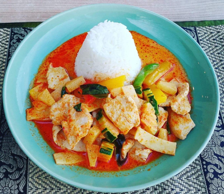 Red curry gai – Bild från Thaibreak av Hans H.