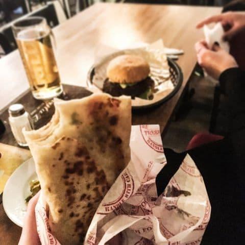 Burrito – Bild från The Border Södermalm av Fredrik J.