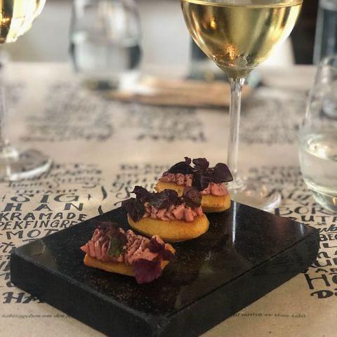 Foie gras- & kycklingleverparfait – Bild från The Flying Elk av Elin E.