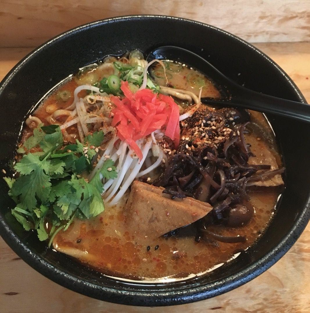 Vegan Spicy Ramen – Photo from Totemo Ramen by Elena G.