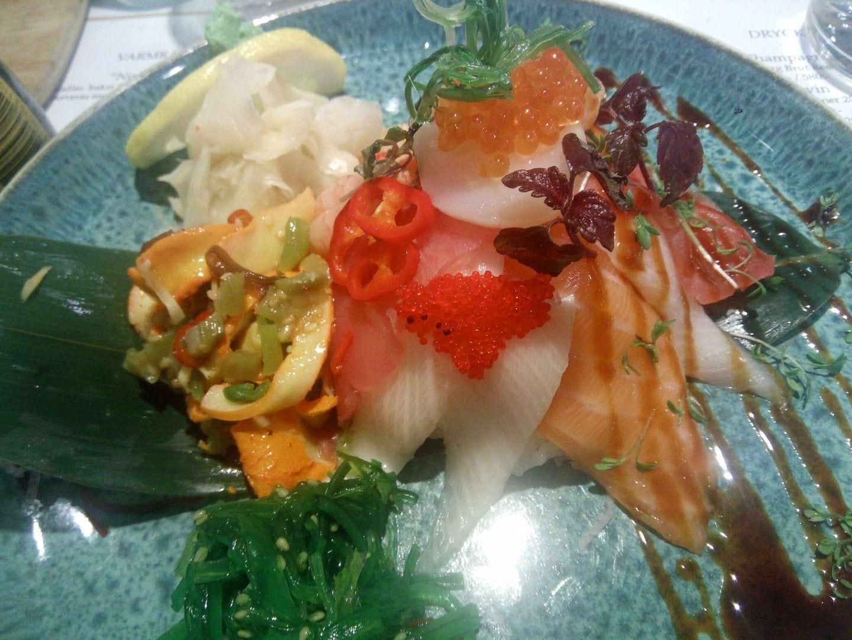 Chirashi (165 kr) – Bild från Tokyo Diner av Katarina D.