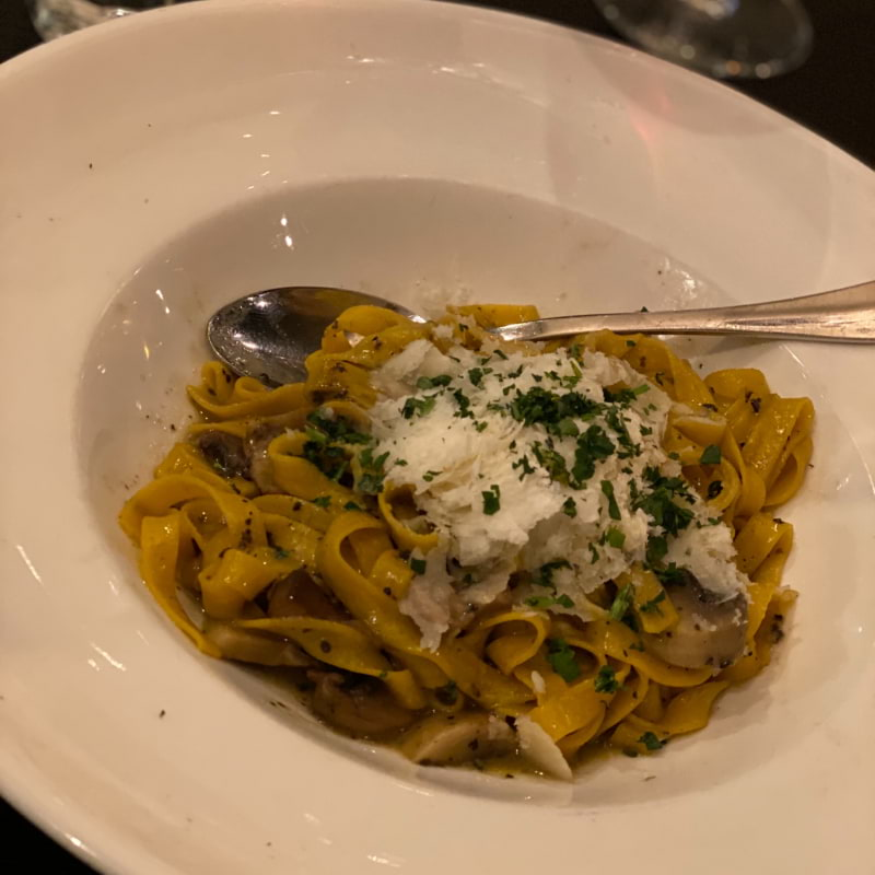 Tryffelpasta med svamp – Photo from Trattoria Villa Romana by Annelie V.