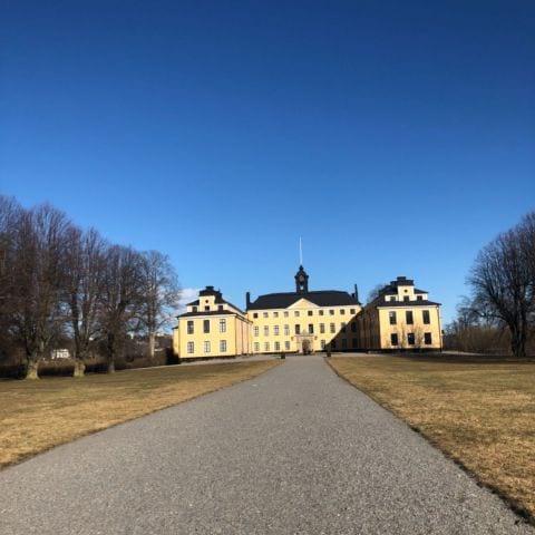 Bild från Ulriksdals slott av Ida B.