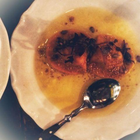 Bäst ikväll. Raviolin med brynt smör och hackade nötter – Bild från Un Poco Bar av Annelie V.