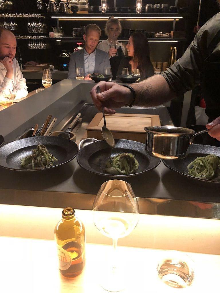 Zucchini med sushi – Bild från Unn av Adam L.