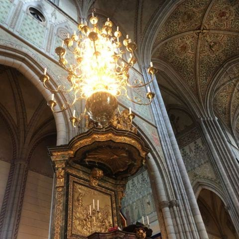 Bild från Uppsala Domkyrka av Ida B.