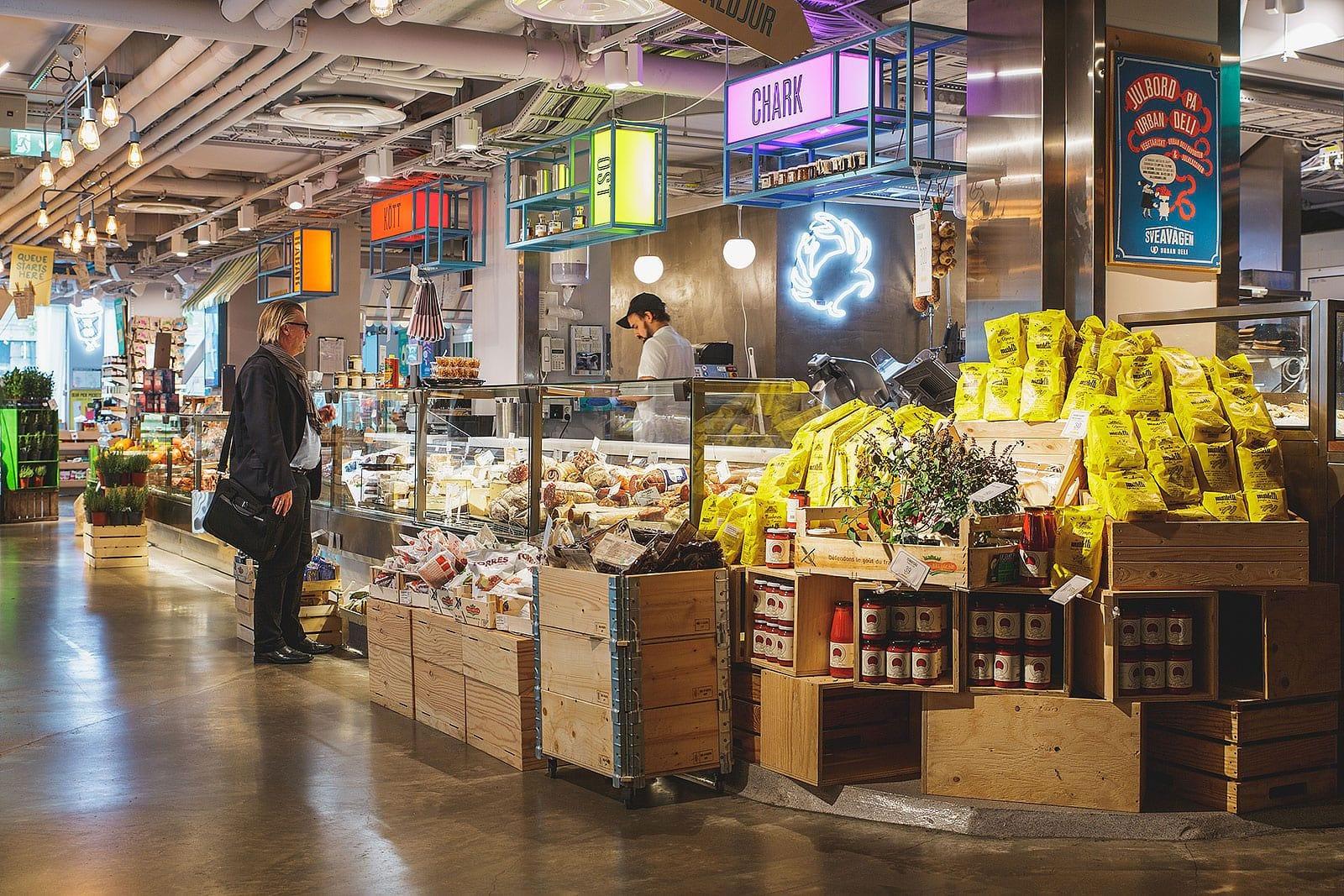 Arabisk Livsmedelsbutik Stockholm