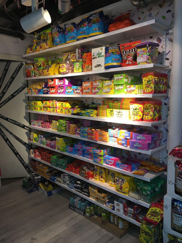 amerikanskt godis i stockholm
