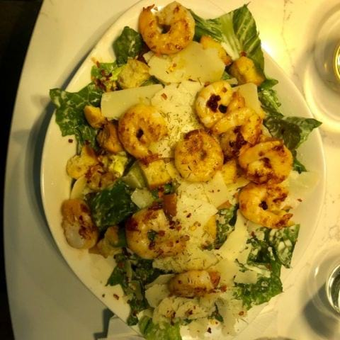 Ceasarsallad med scampi – Photo from Vapiano Stureplan by Annelie V.