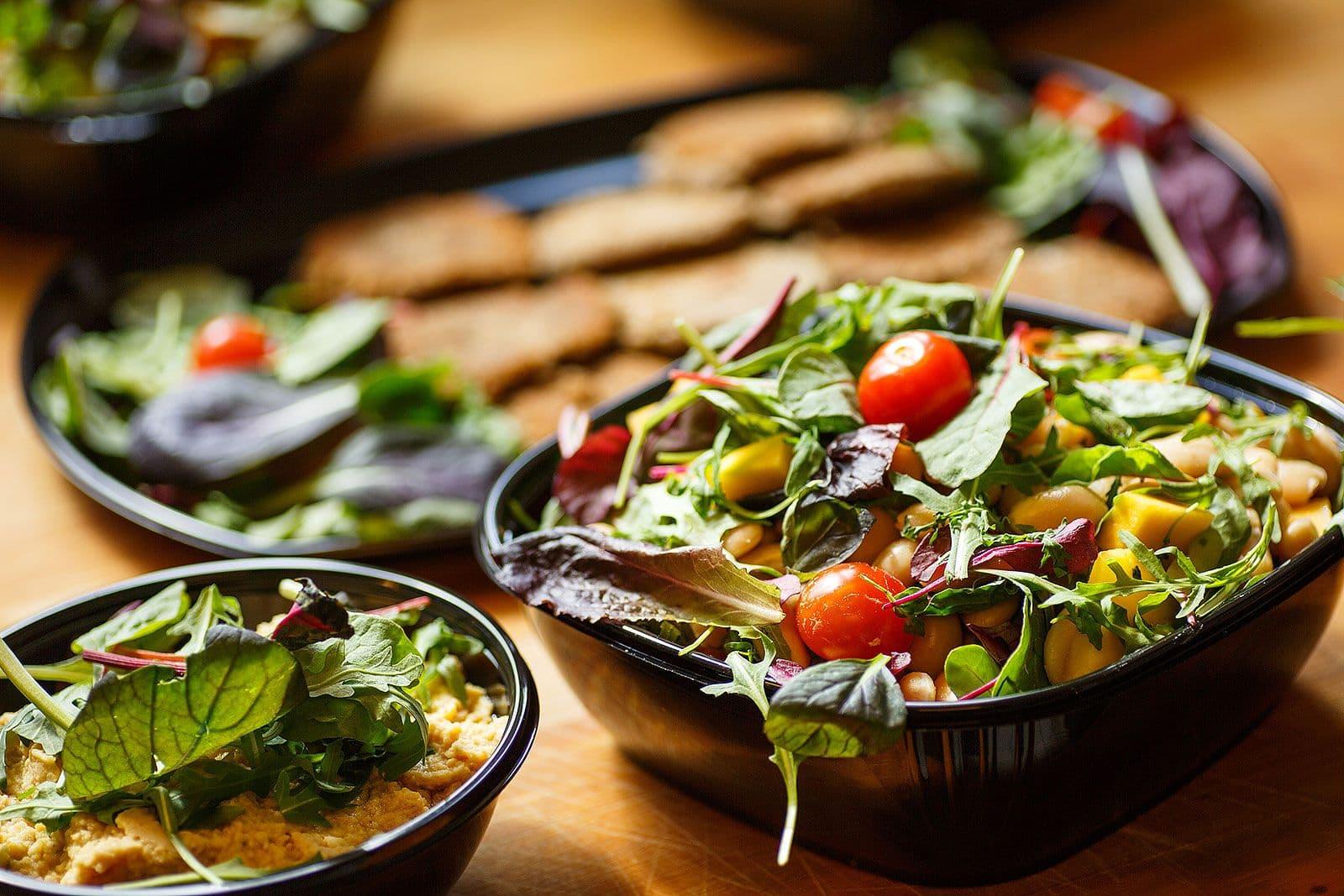 catering vegetarisk buffe stockholm