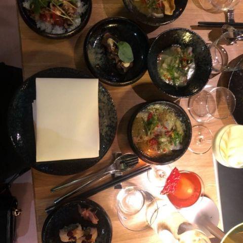 Nikkei – Bild från Videgård Restaurant Sturegallerian av Mythu L.