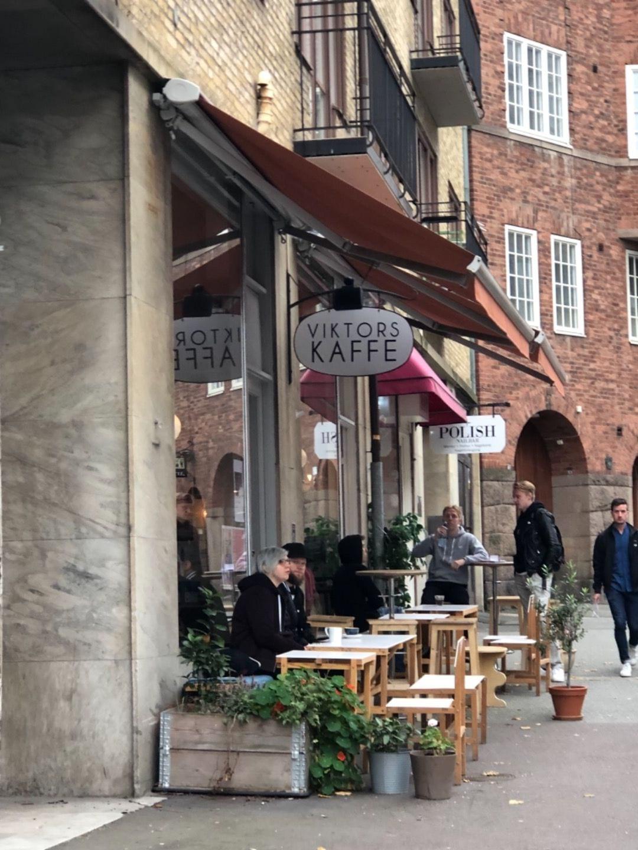 Exteriör – Bild från Viktors Kaffe av Agnes L.