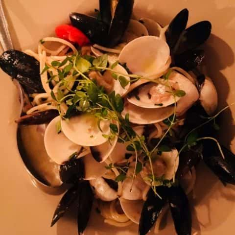 Spaghetti Vongole – Photo from Villaggio by Anna T.