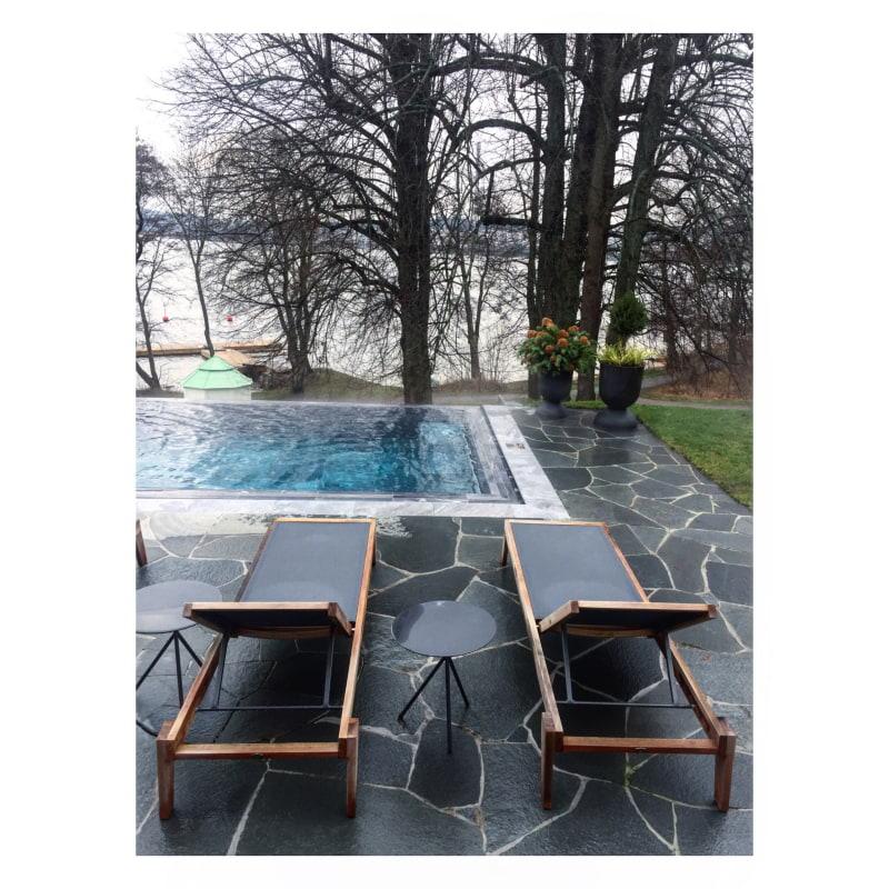 Utomhuspoolen – Bild från Villa Lovik av Emma R.