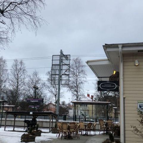 Photo from Viggbyholms stationskafé by Ida B.