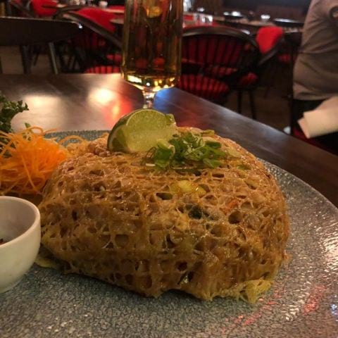 Pad Thai med en twist – Photo from Wäng Izakaya by Annelie V.