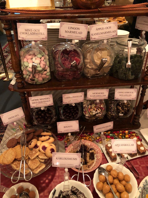 Vegansk dessertveganbord – Bild från Wärdshuset Ulla Winbladh av Agnes L.