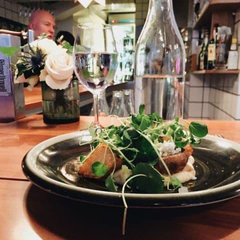 Veckans vegetariska på Wood Stockholm – Bild från Woodstockholm Matbar av Estelle B.