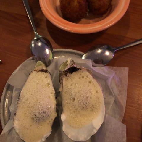 Ostron, typ de godaste jag ätit – Bild från Woodstockholm Matbar av Adam L.
