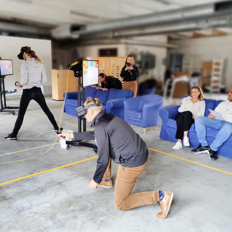 Kul med jobbet! – Bild från XR Play av Johan S.