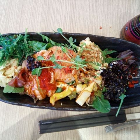Chirashi – Bild från Yume Sushi Mariatorget av Katarina D.