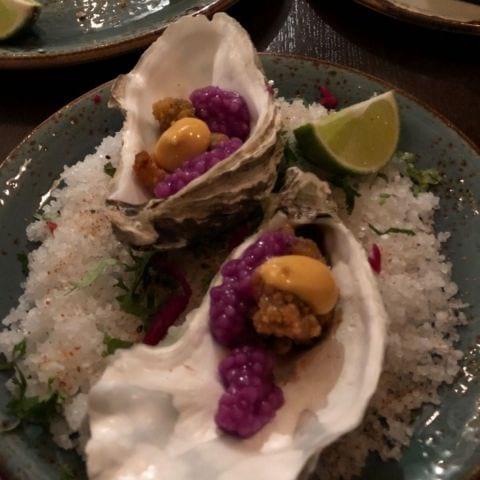 Friterade ostron – Bild från Yuc Mexican av Cissi L.