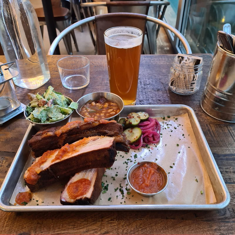 Ribs – Photo from Zäll's Smokehouse by Robert L.
