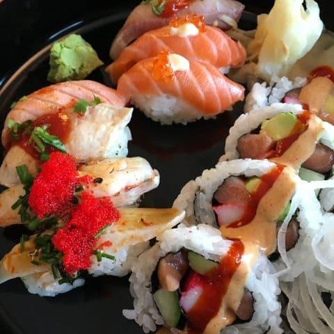 """""""Tokyo"""" – Bild från Zugoi Sushi av Johanna L."""